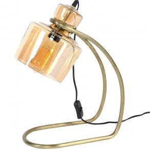 Jail Bordlampe i glas og antik bronce Bordlamper 3 Nordic